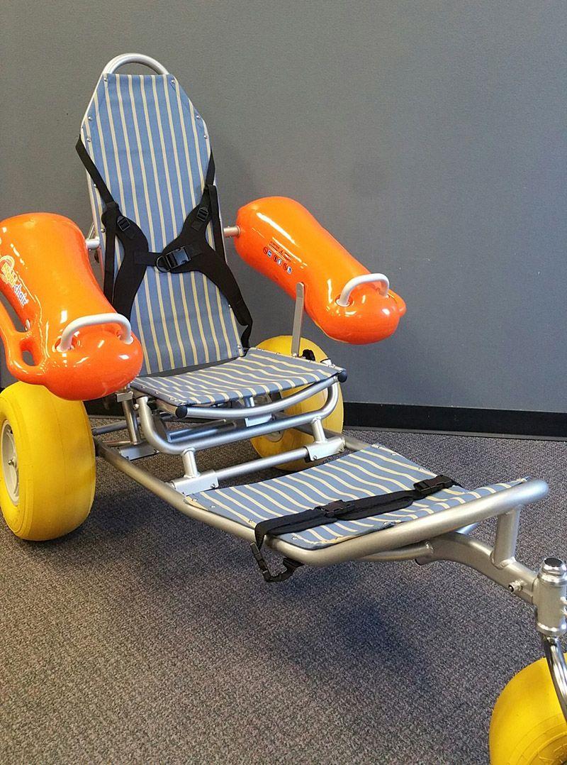 AT Loan Closet Beach Wheelchair
