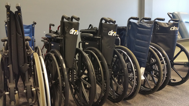 AT Loan Closet Wheelchairs