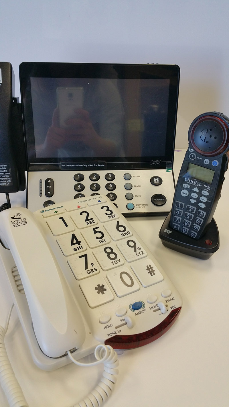 AT Loan Closet Large Number Phones